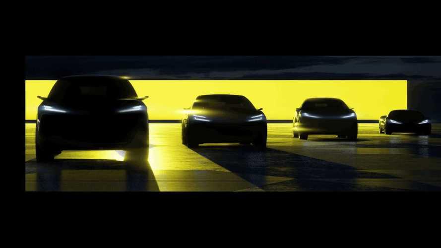 Lotus verspricht vier neue Elektro-Modelle bis 2026