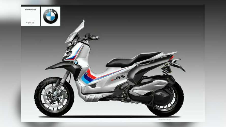 Should BMW Consider Making A GS-Styled Adventure Scooter?