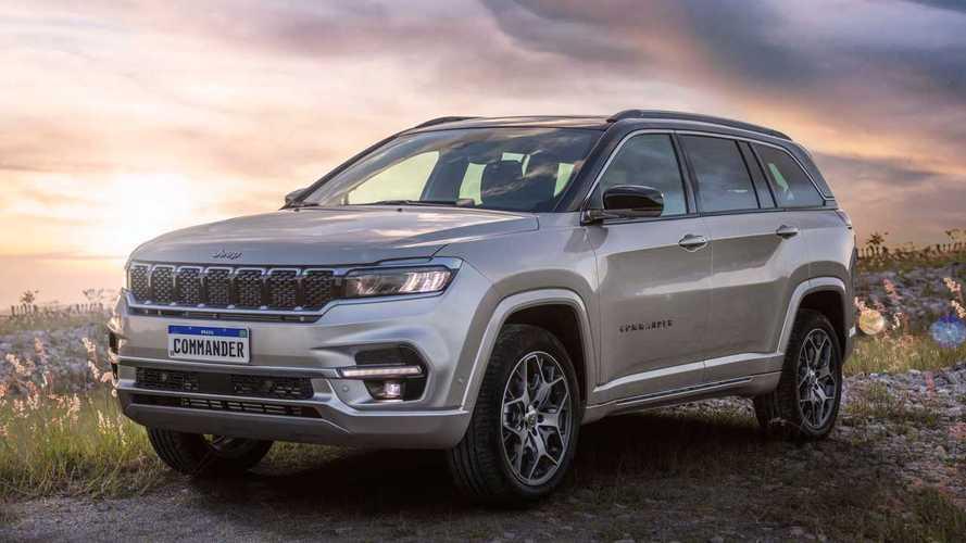 Jeep Commander 2022 vende 2.800 unidades em apenas 6 horas