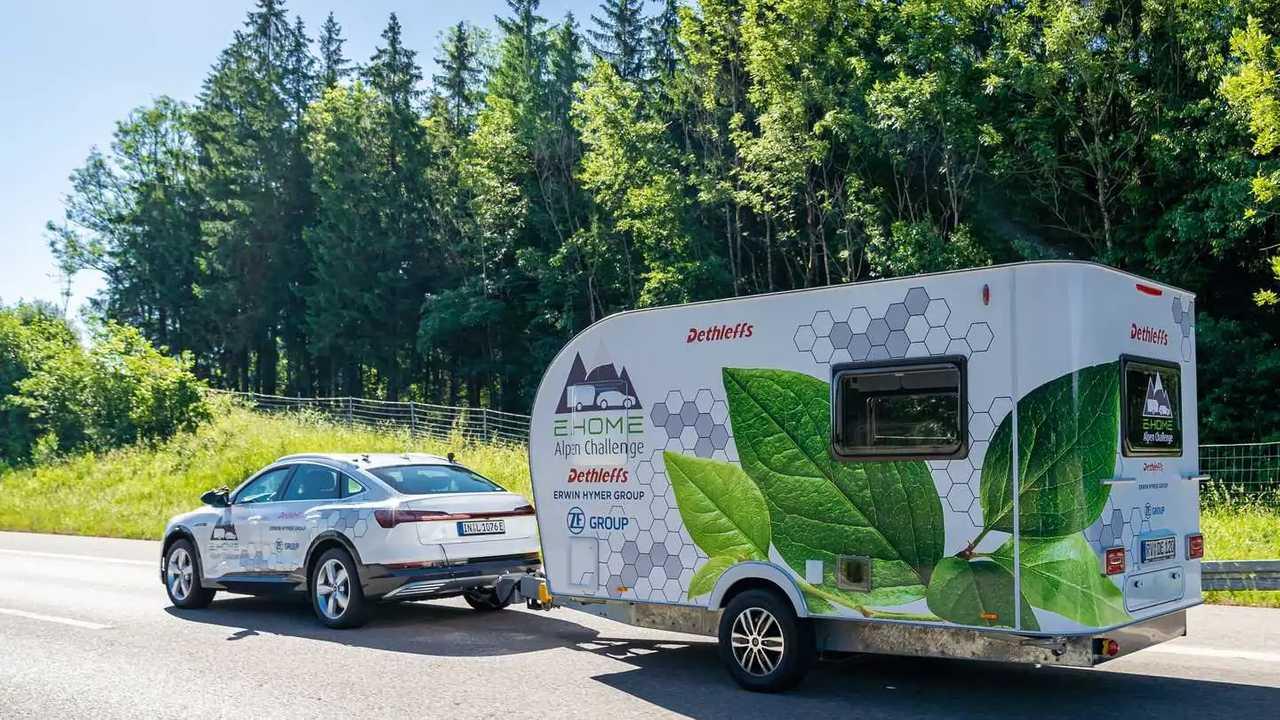 Dethleffs E.Home: Wohnwagen mit eigenem Elektroantrieb