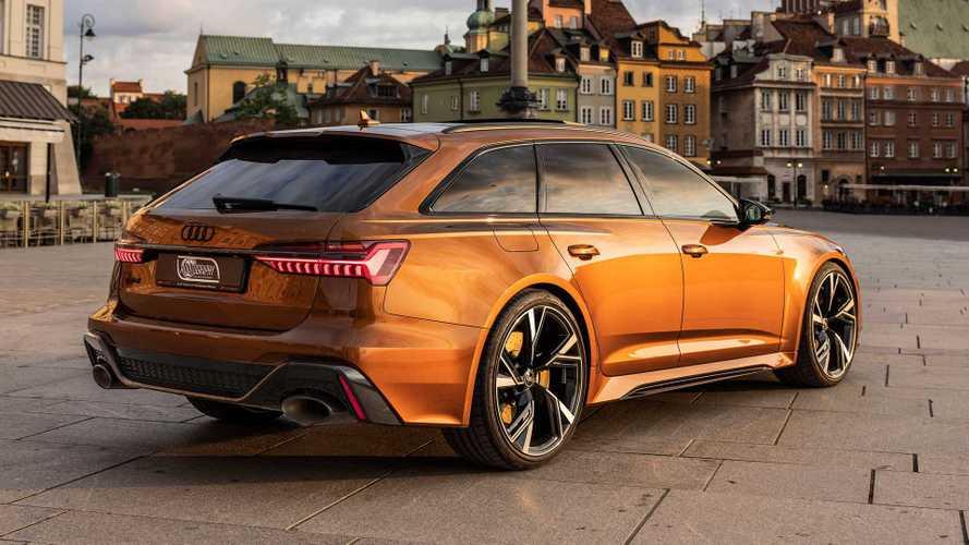 Audi RS 6 Avant in Ipanema Braun ist der Kombi-Himmel