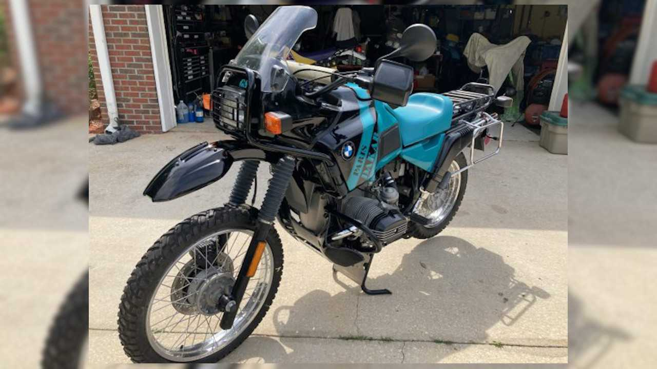 This First-Owned 1991 BMW R100GS Paris Dakar Could Be Yours