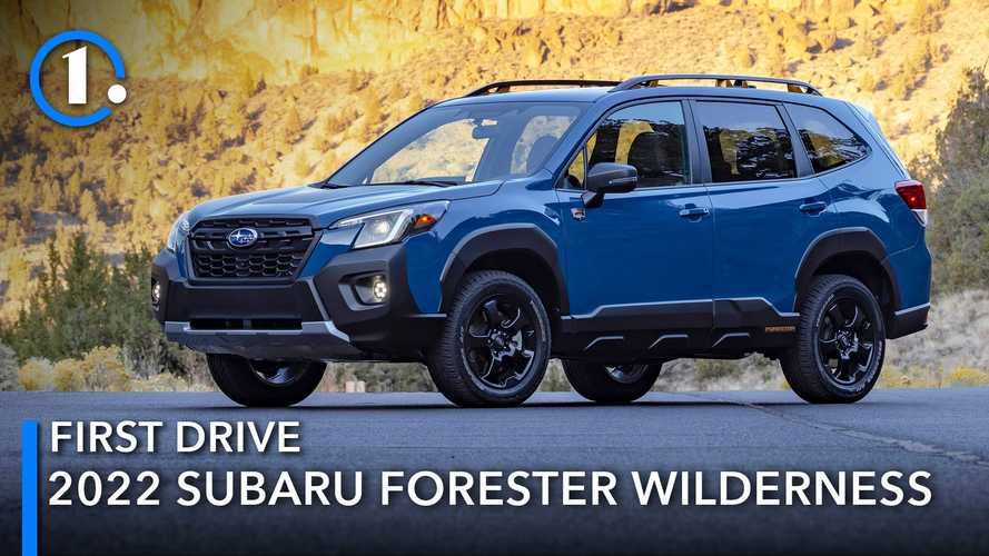2022 Subaru Forester Wilderness First Drive Review: Explore Even More