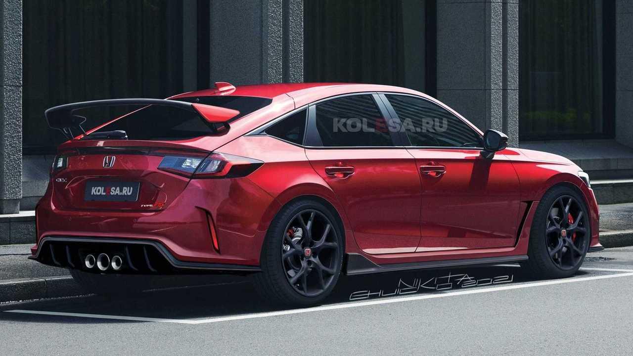 Honda Civic Type R 2023 rendering