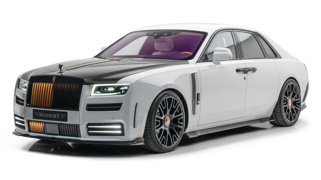 Mansory upgrades the Rolls-Royce Ghost.