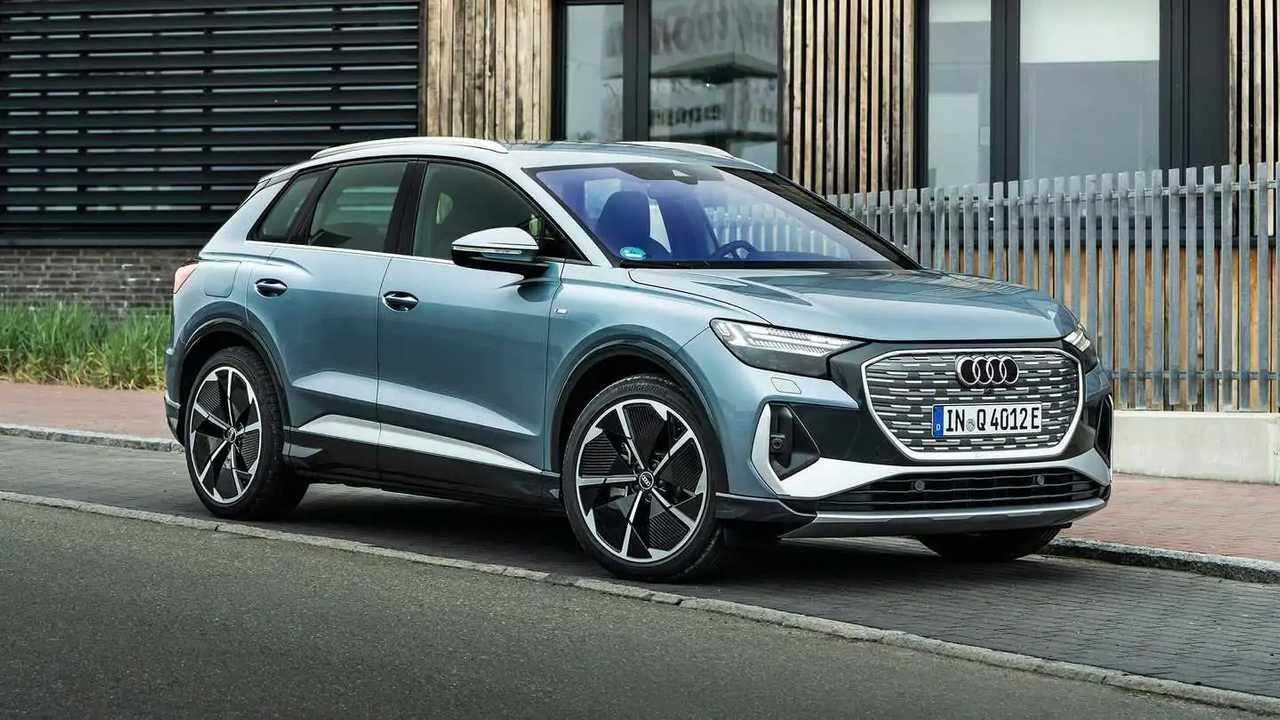 2022 Audi Q4 e-tron 45 quattro European-spec 5