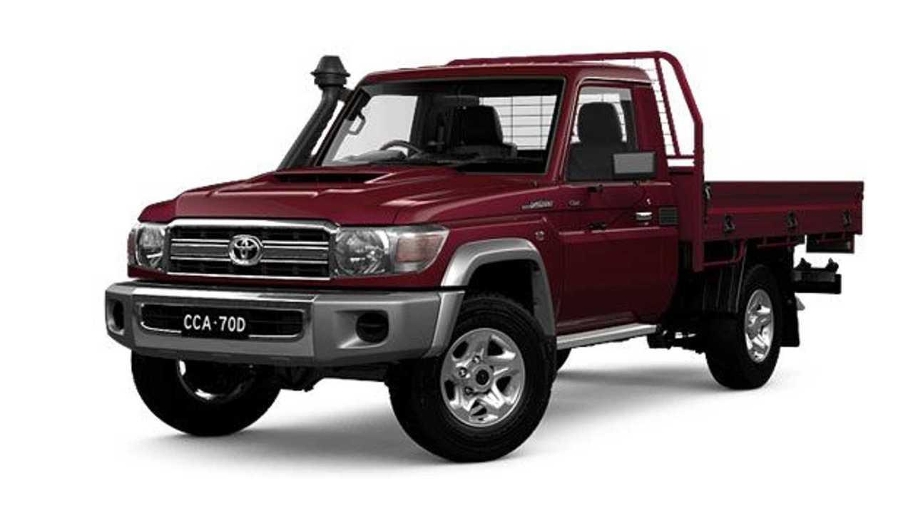 Der Toyota LC70 ist 37 Jahre alt und wird noch immer verkauft