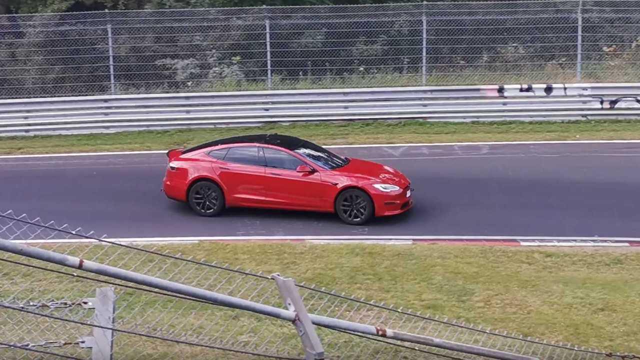 Tesla Model S Plaid Sets New Nürburgring Record For Production EVs