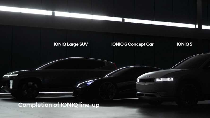 Hyundai Teases Ioniq 7 And It's A Large Electric SUV