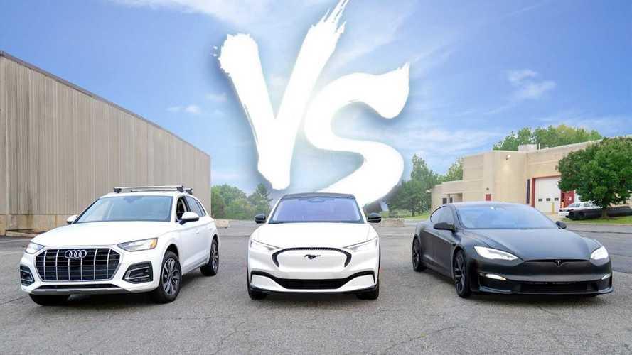 1,000-Mile Road Trip: Gas Vs Tesla Plaid Vs Ford Mustang Mach-E