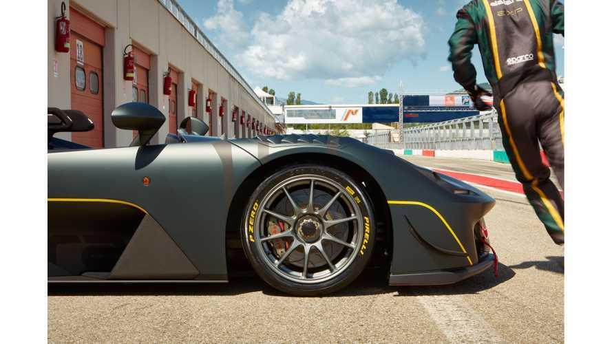 Dallara Stradale Exp, Pirelli lastikleri ile Mugello'yu fethetti