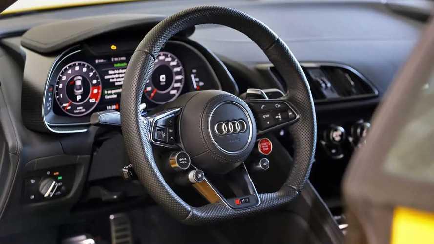 Audi R8 V10 2021 no Circuito Panamericano