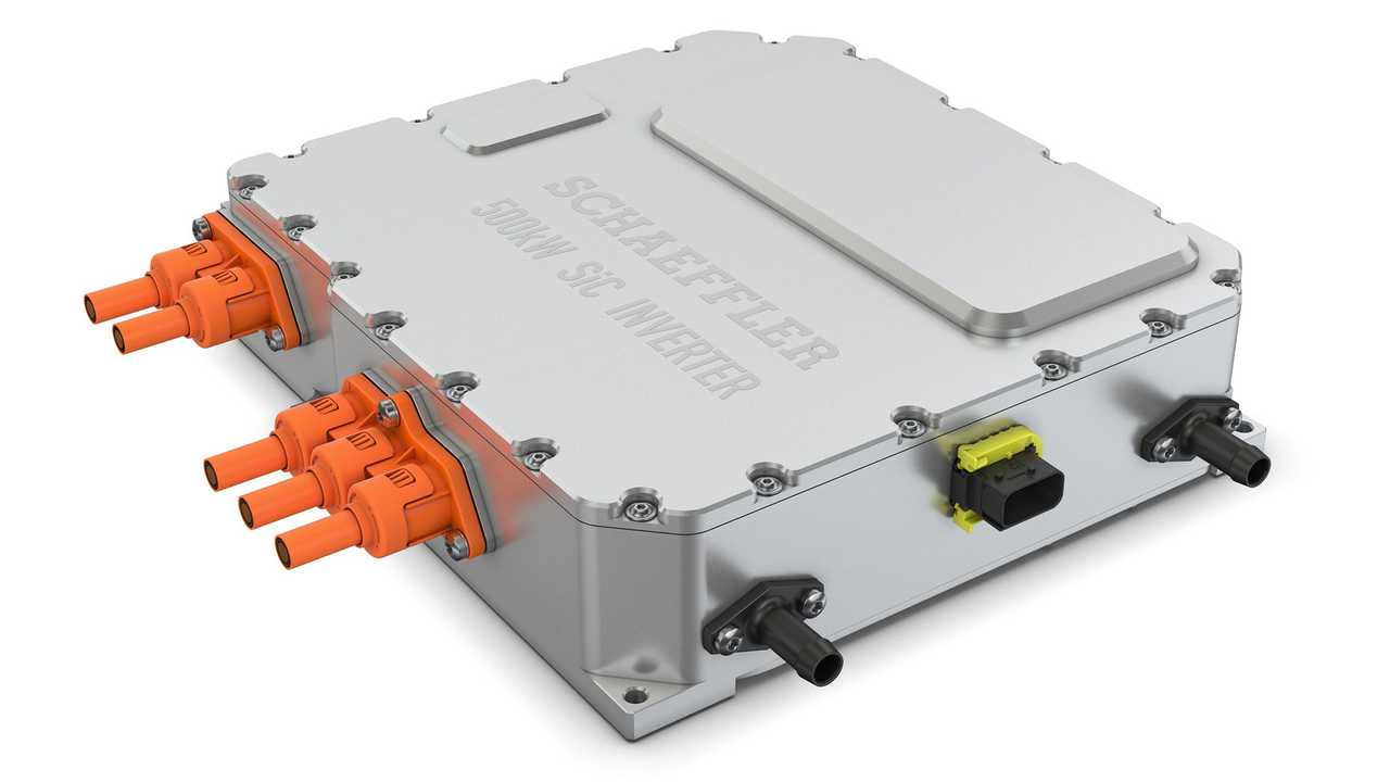 Schaeffler präsentiert eine 800-Volt-Leistungselektronik