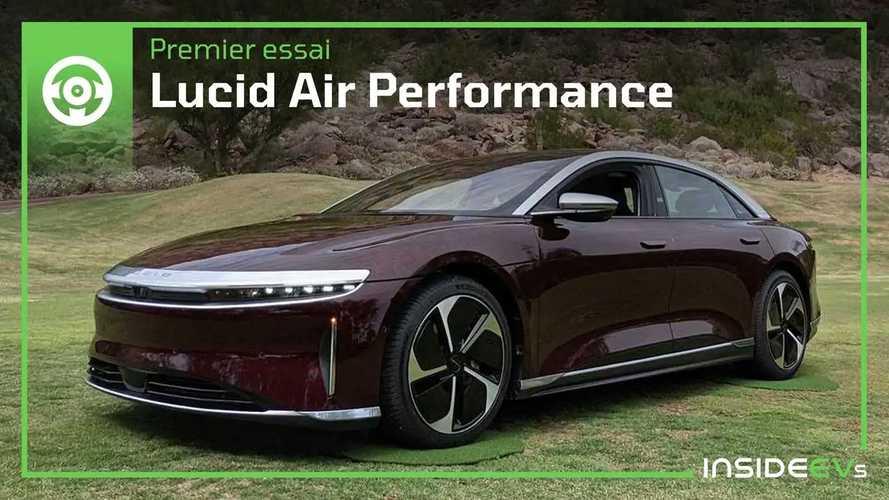 Lucid Air - Essai en avant-première de la berline anti-Tesla