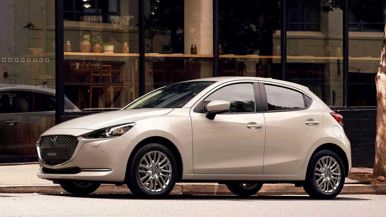 Der Mazda 2 des Modelljahres 2022