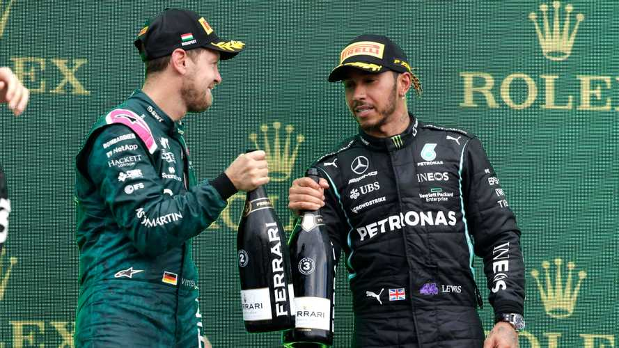 Hamilton 'proud' of Vettel for making stand with 'Same Love' t-shirt