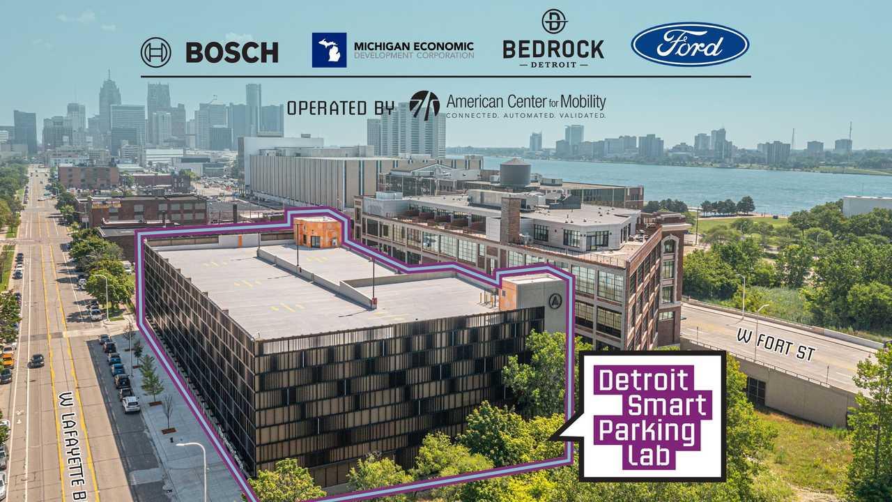 Ford und Boch testen autonomes Parken und Aufladen in Detroit
