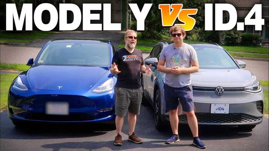 Tesla Model Y Vs. VW ID.4 In-Depth Comparo Has A Clear Winner