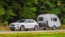 Kia XCeed PHEV 1.6 GDI (2021) mit TAB 320-Caravan im Test