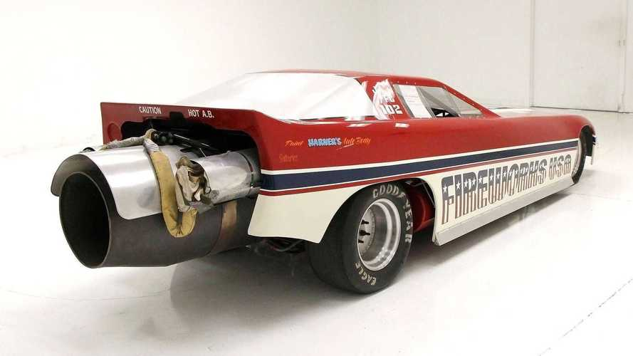 À vendre : une Corvette avec un moteur à réaction de 7000 chevaux