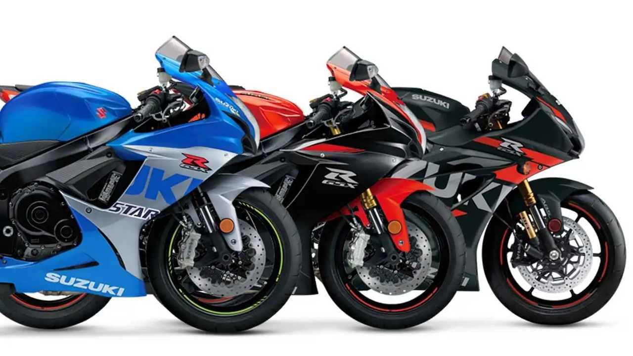 2022 Suzuki Street Bike Lineup