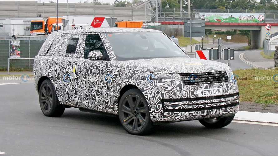 New Range Rover spied up close with slightly less camo
