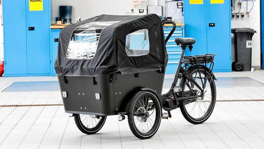 Lastenräder mit E-Bike-Antrieb: Fünf Modelle im ADAC-Test