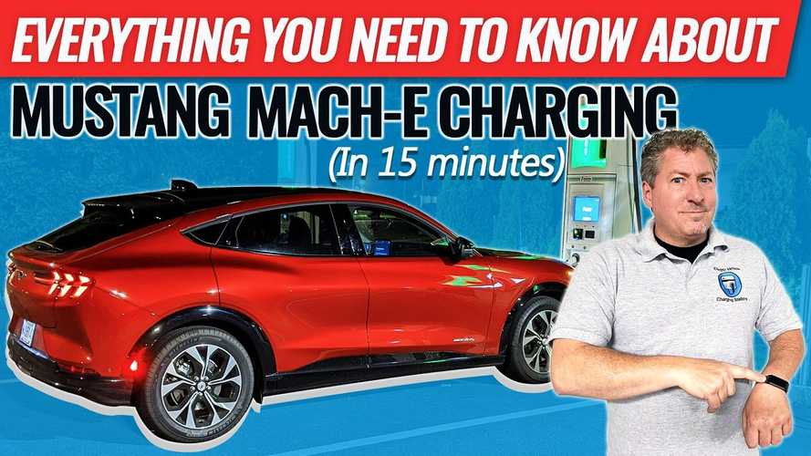 Everything You Need To Know About Charging The Mustang Mach-E