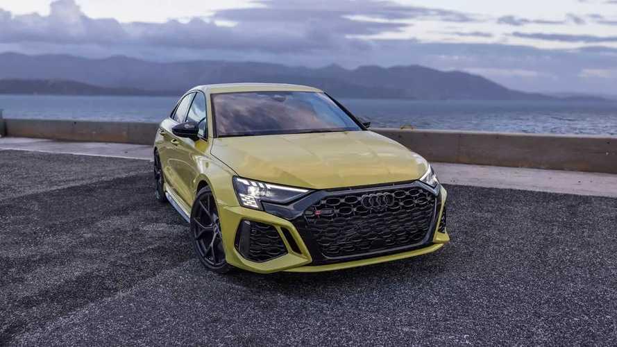 2022 Audi RS3 Sedan shot by Auditography