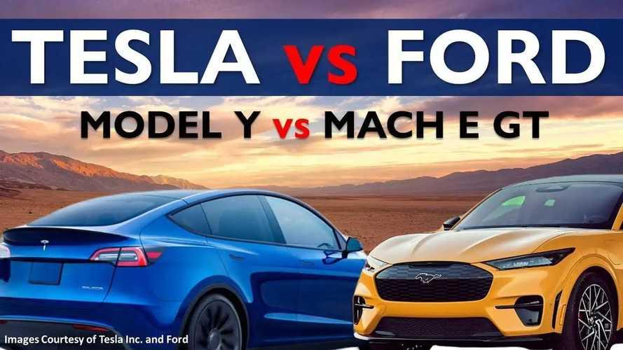 Tesla Model Y Performance Vs Mustang Mach-E GT: In-Depth Comparo