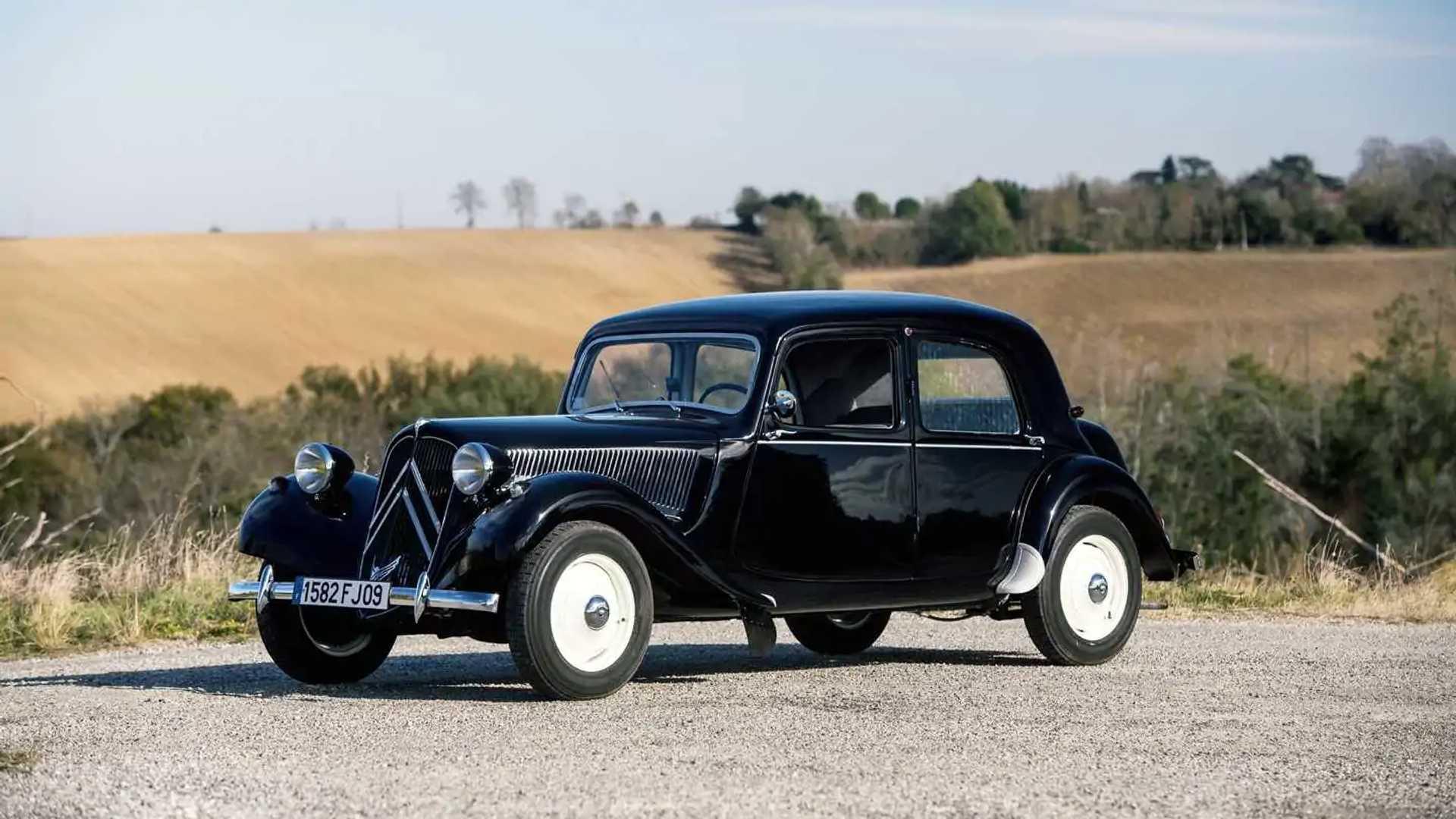 Citroen Traction Avant, l'auto del futuro negli Anni '30