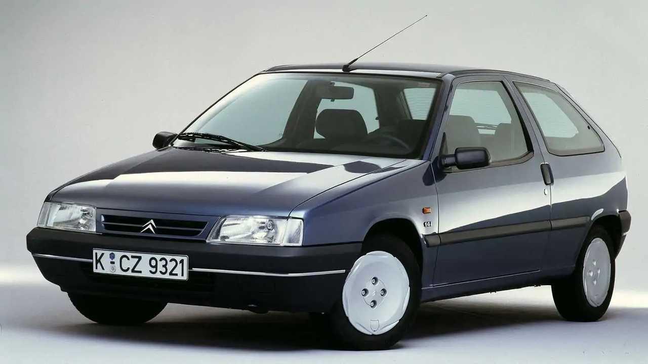 Der Citroën ZX nach der Überarbeitung von 1994