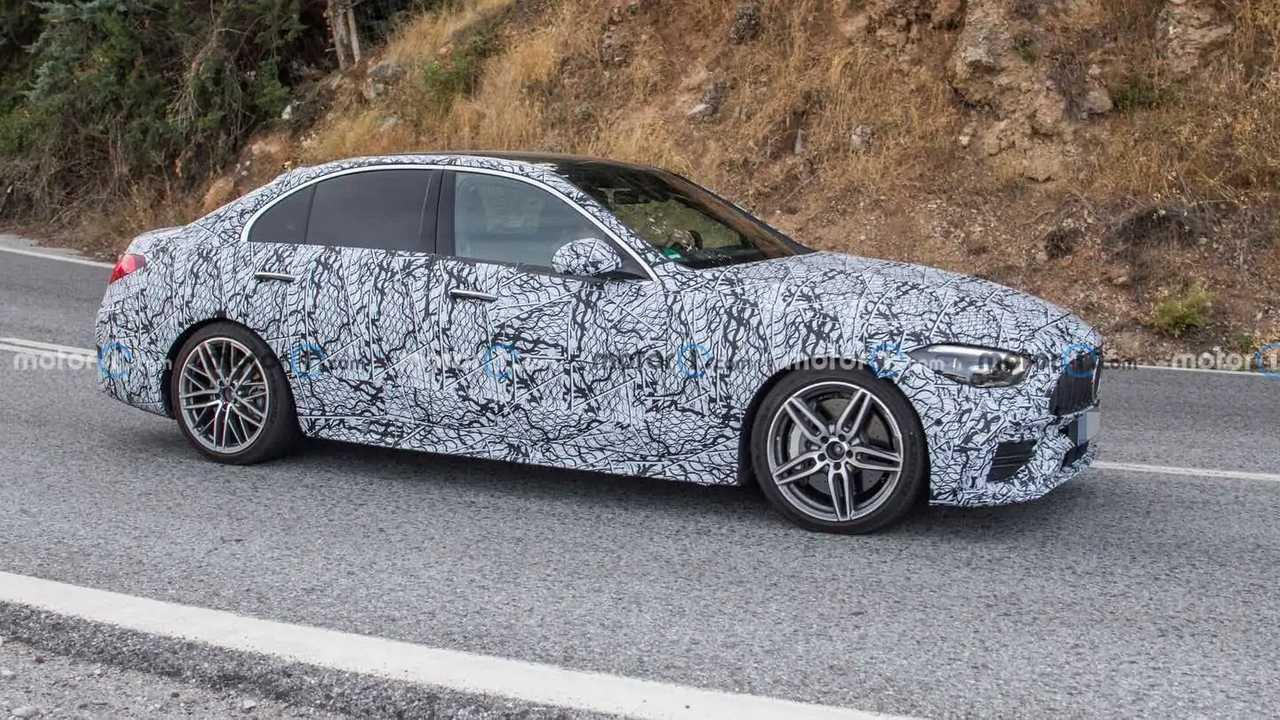 2022 Mercedes-AMG C45 spy photo