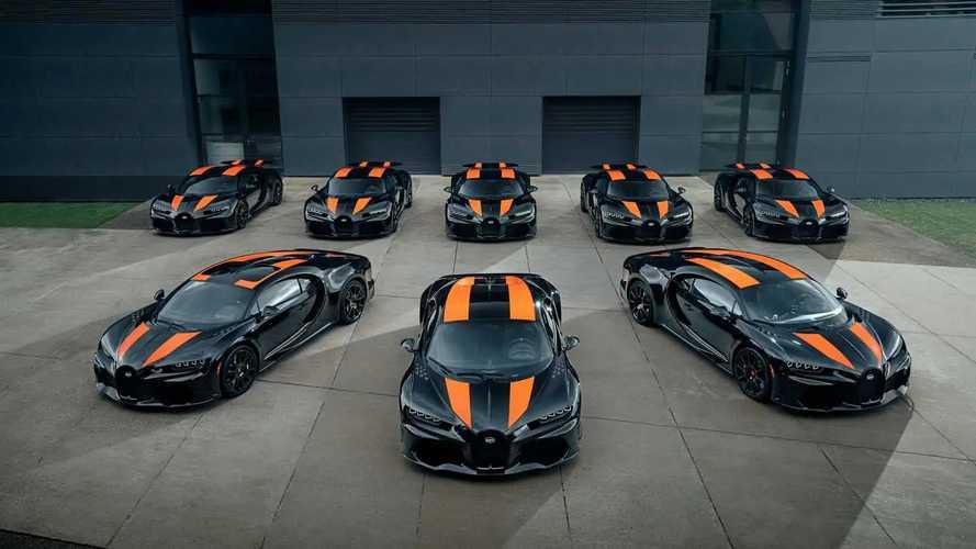 Arrancan las entregas del Bugatti Chiron Super Sport 300+