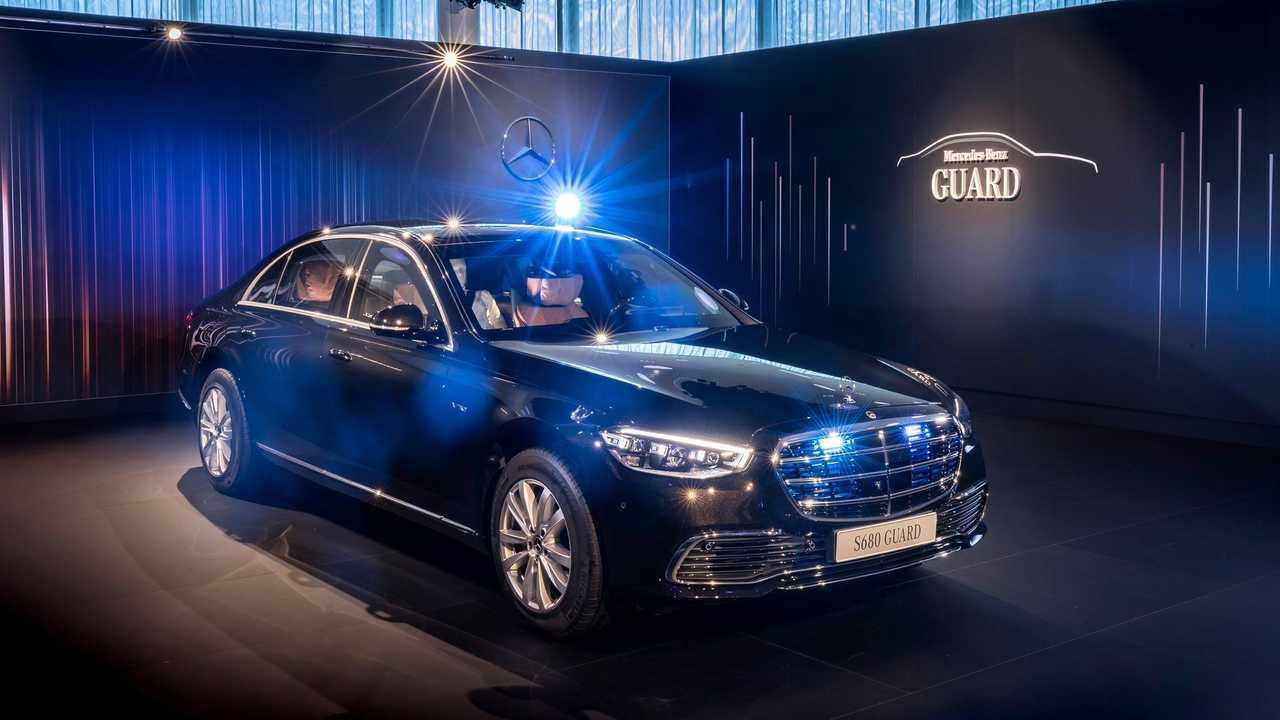 Mercedes Classe S Guard