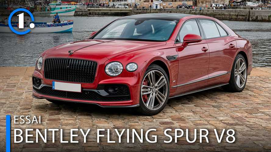 Essai Bentley Flying Spur V8 - Un chauffeur ? Non merci