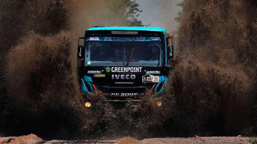 Dakar 2017, la prima tappa vede Iveco al secondo posto