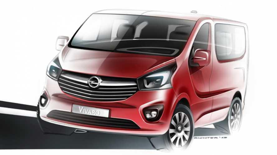 Opel, ecco il nuovo Vivaro