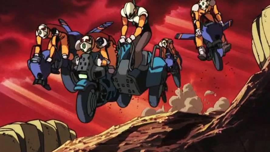 Four More Killer Cartoon Motorcycles