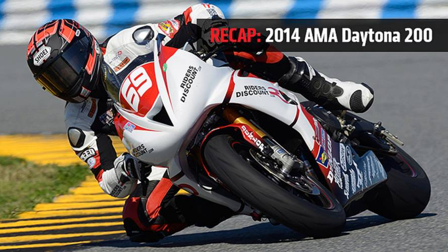 triumph daytona 675r news and reviews rideapart Daytona R news recap 2014 ama daytona 200