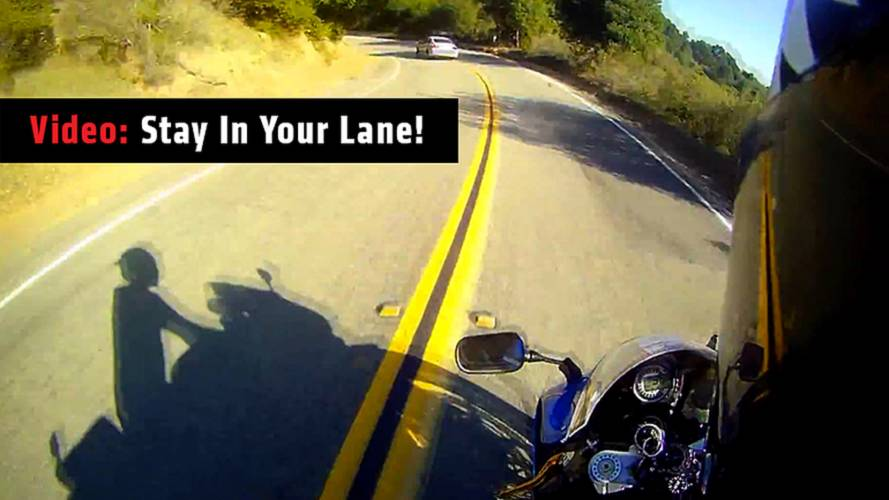 Video: Stay In Your Lane!
