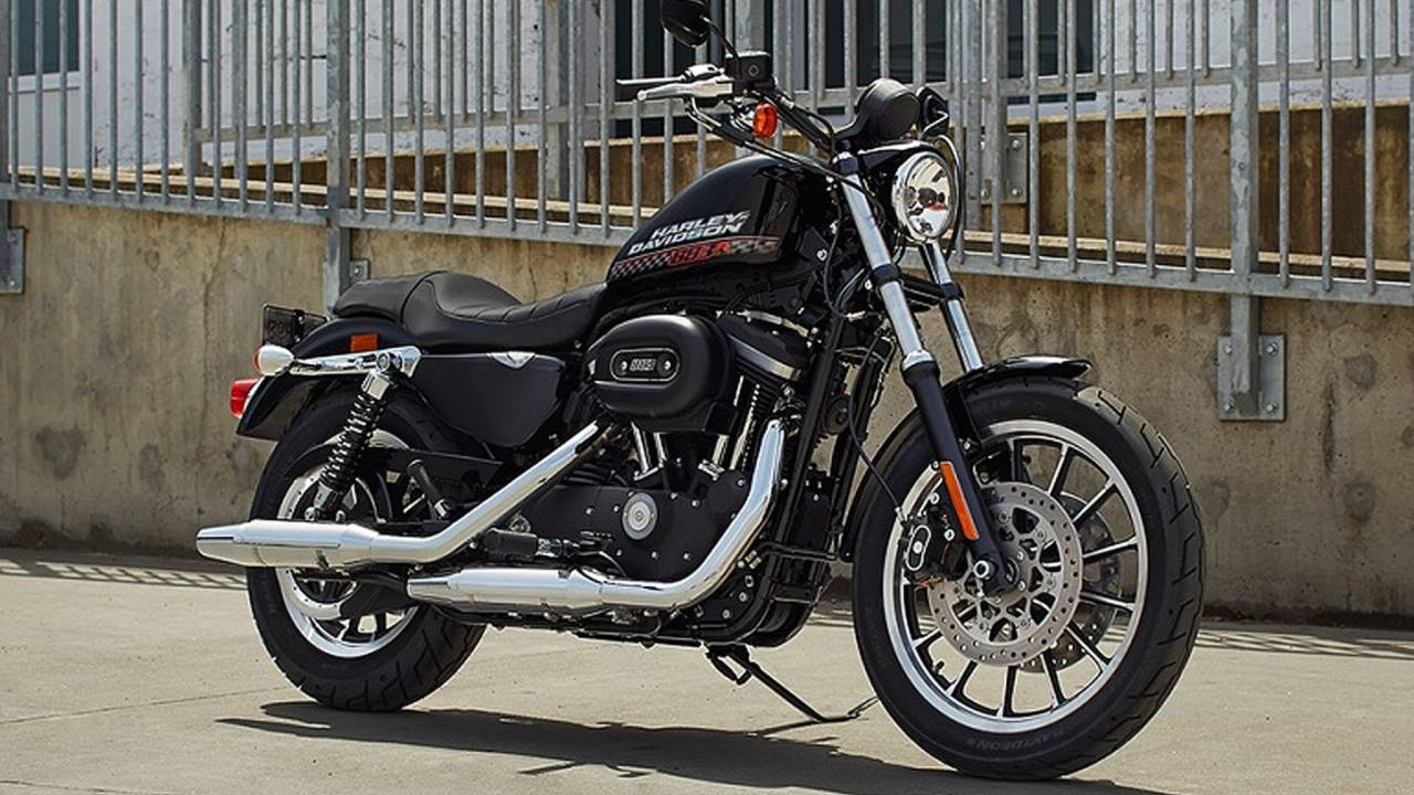 <em>The 883R was effectively an 883cc version of the current Sportster Roadster.</em>