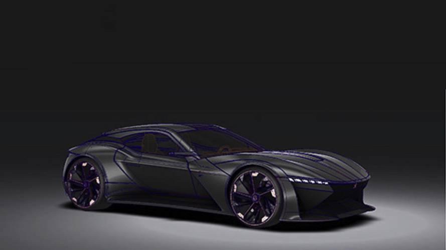 Peugeot Felidae GT illustration par Fabien Rondet