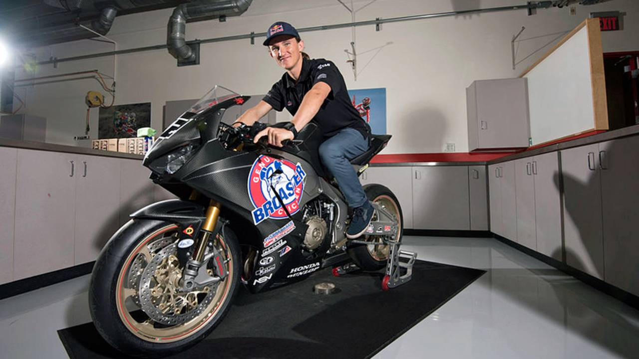 Jake Gagne to Race Genuine Broaster Chicken Honda Superbike