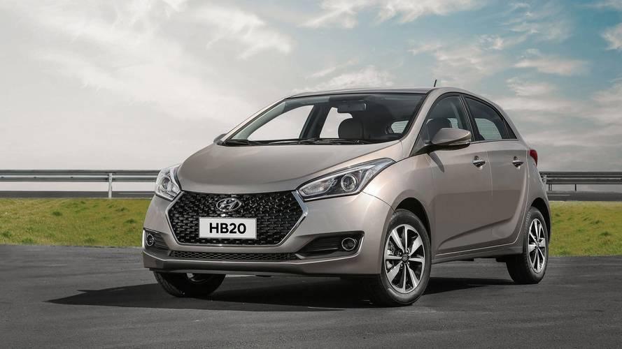 Hyundai convoca 6.025 unidades do HB20 e HB20S por defeito no semieixo