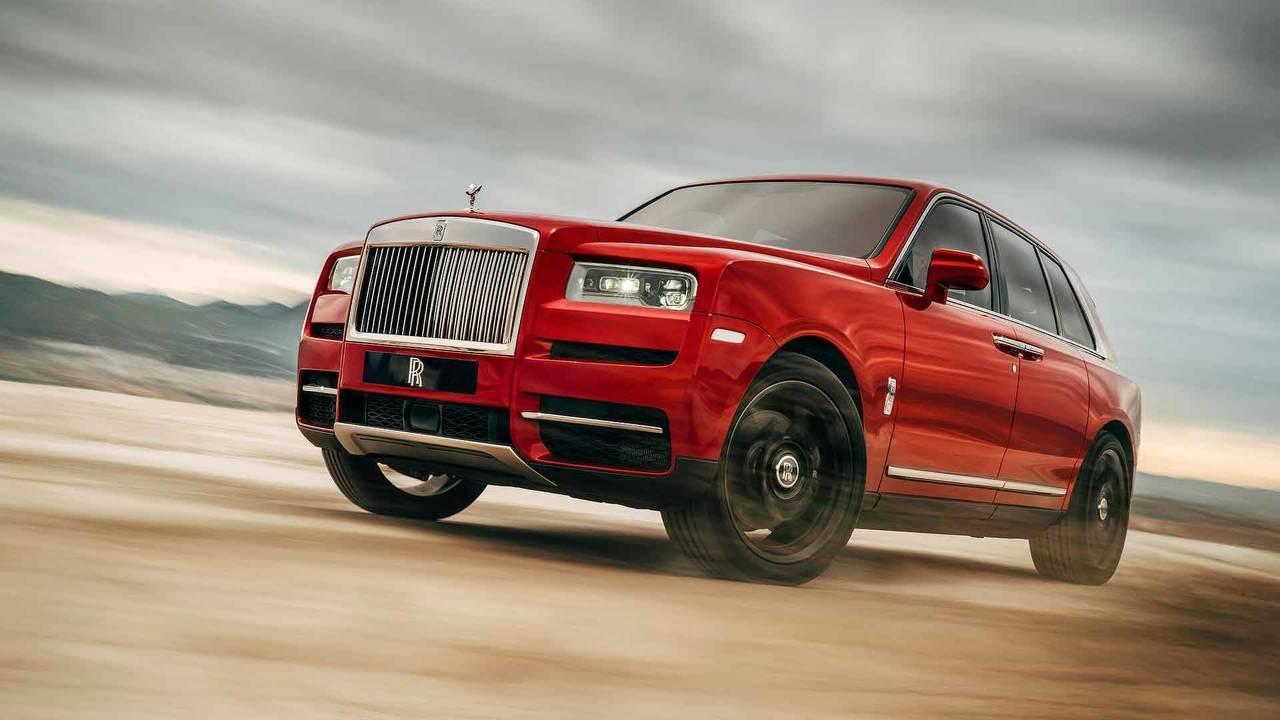 Rolls-Royce Cullinan - 325,000 $ (1.4 milyon TL)