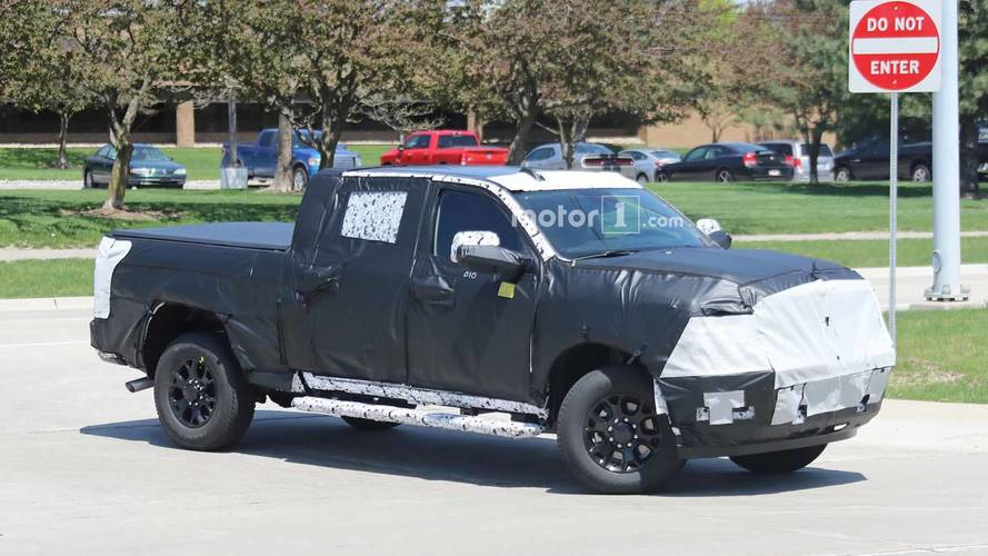 Ram Spied Testing Next-Gen 2500 Under Heavy Camouflage