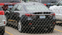Mazda6 Skyactiv-D Spy Photos