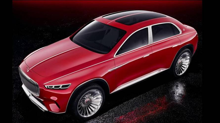 Mercedes Says The Vision Maybach Luxury Concept Might Be Made