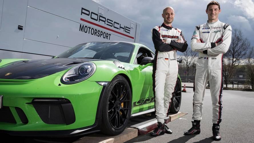 Porsche 911 GT3 RS, vuelta rápida Nürburgring
